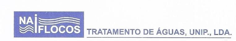 Naiflocos - Tratamento De Águas, Unipessoal, Lda
